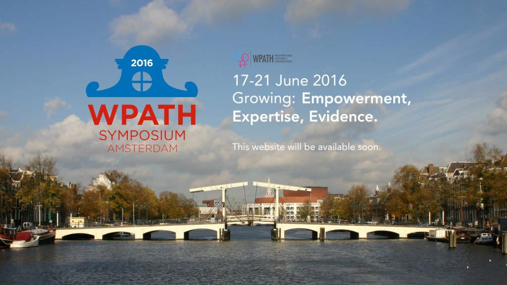 Of course, we will be back for the next WPATH Symposium in Amsterdam 2016!