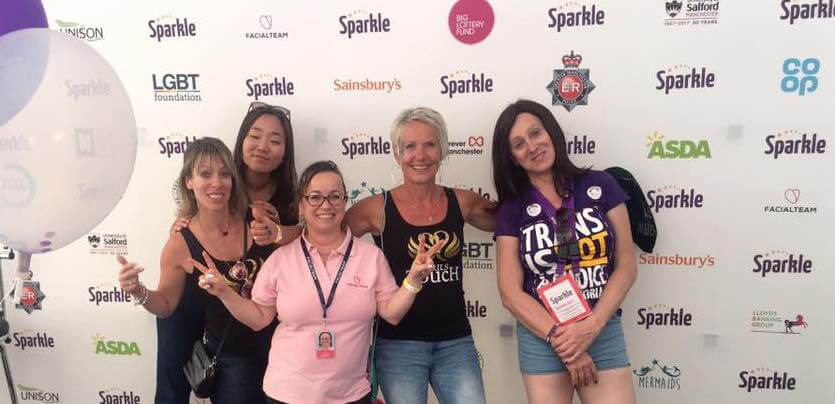 FACIALTEAM at Sparkle