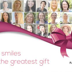 Smiles of FACIALTEAM patients, the best gift in 2017 and the future