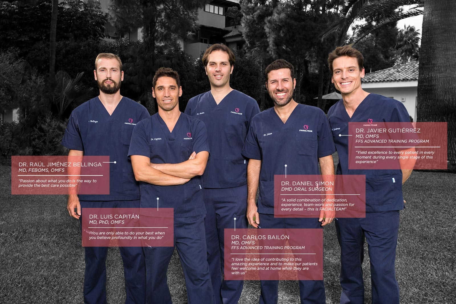 FACIALTEAM | FFS Surgeons in Europe