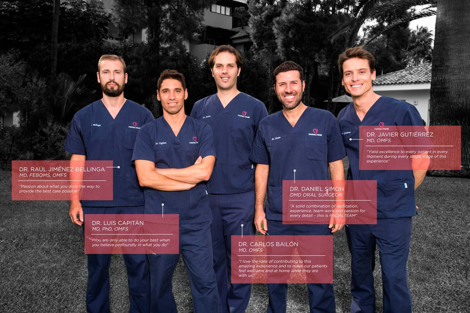 Face feminization doctors in Europe