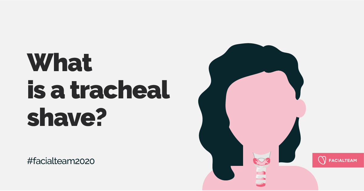 What is a tracheal shave?