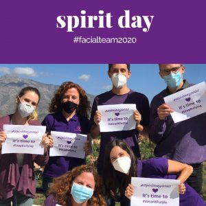 Spirit Day 2020 Facialteam