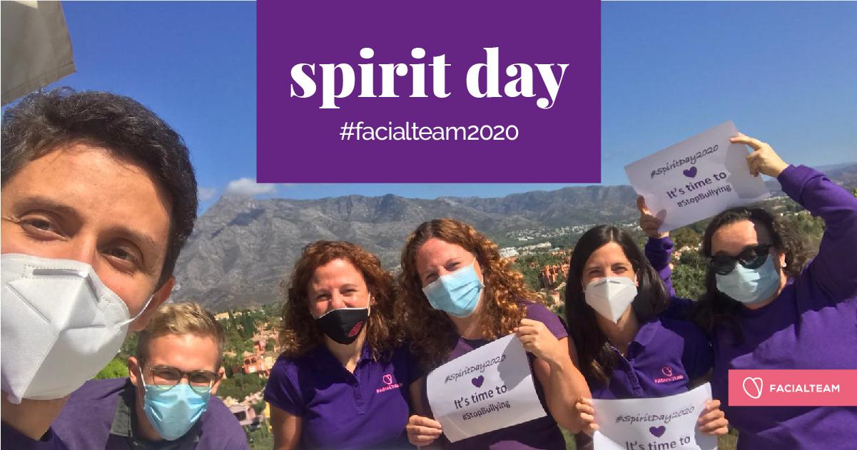 Spirit Day | Facialteam goes purple!