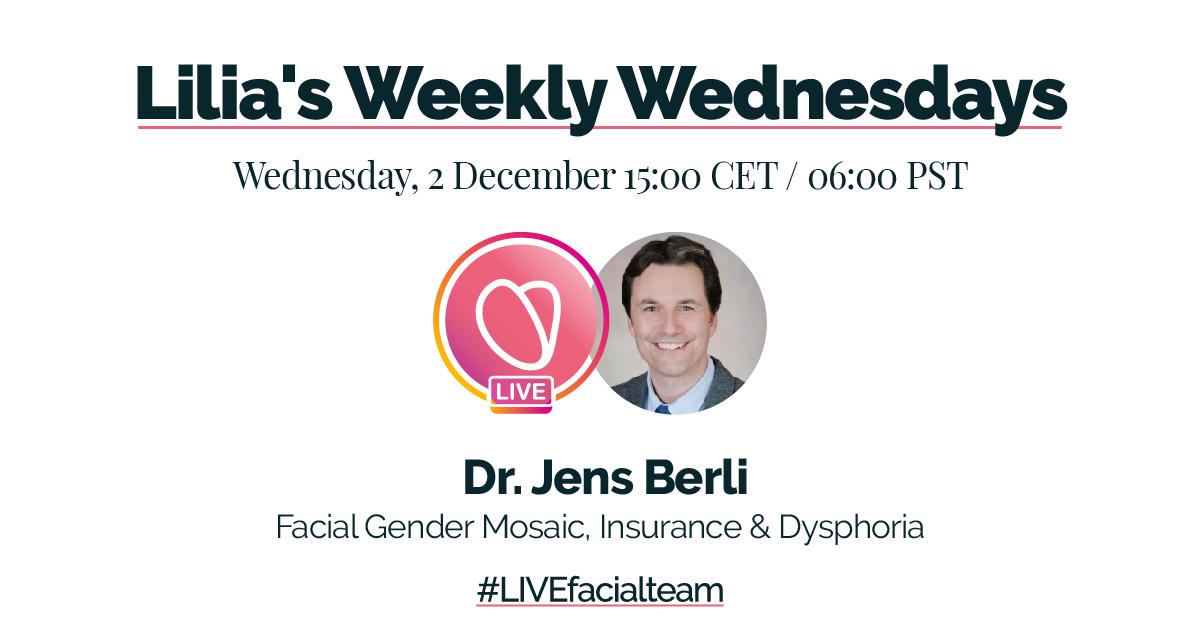 Livestream FACIALTEAM | Lilia's almost weekly Wednesdays!