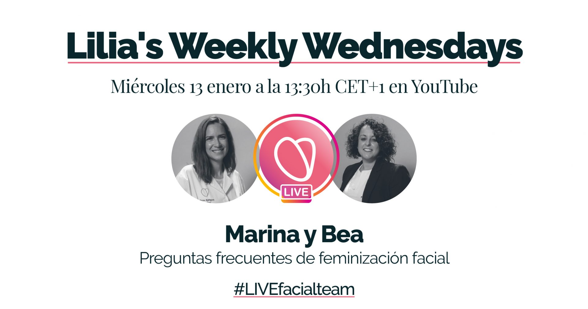 Lilia's Livestream Facialteam | Almost Weekly Wednesdays!