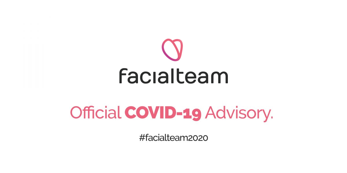 COVID-19 Advisory for patients | Facialteam