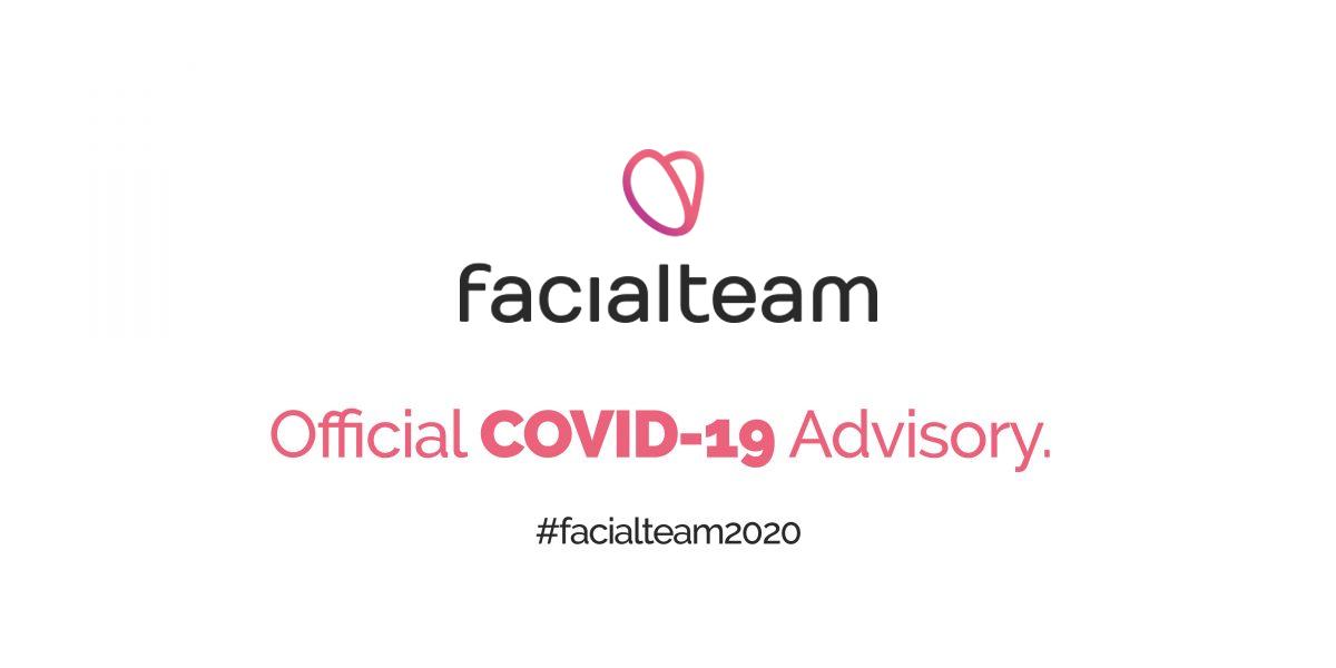 COVID-19 Advisory for patients | Facialteam